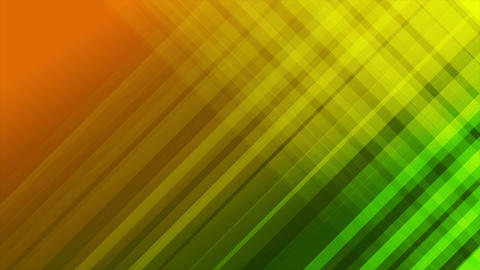 Green and orange diagonal stripes abstract video animation Animation