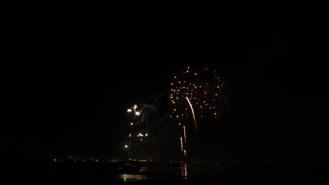 Fireworks of St Paio of Torreira Footage