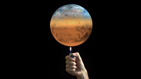 Global warming 画像