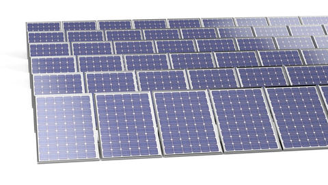 Group of solar panels Image