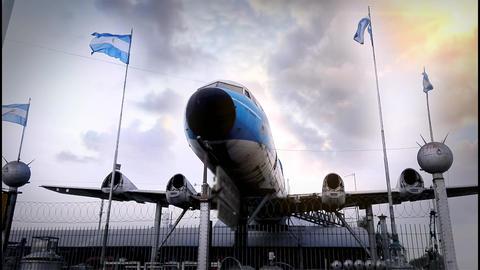 Abandoned Plane Footage
