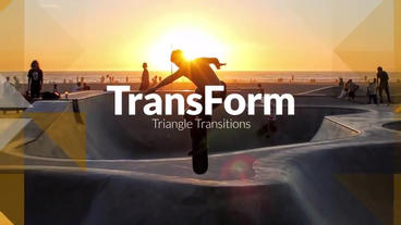 TransForm - Triangle Transitions Premiere Pro Template