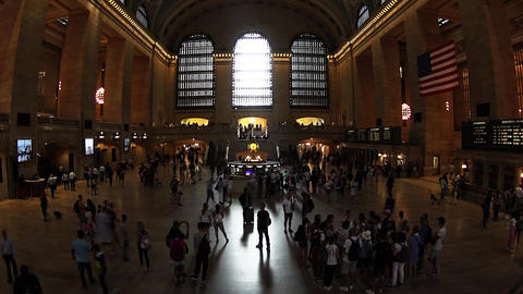 Grand Central in NYC Footage