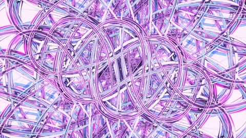 Abstract motion background, shining energy waves, seamless loopable Animation