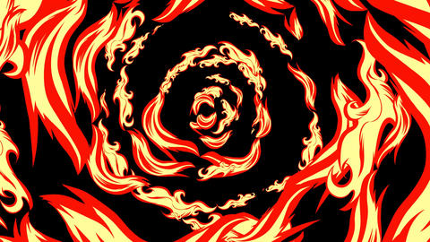 manga effect Fire breath CG動画