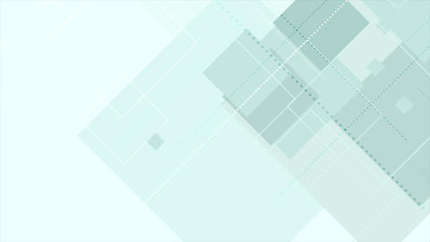 Cyan tech abstract geometric video animation Animation
