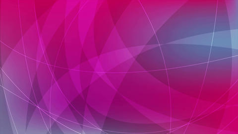 Blue and pink abstract waves video animation Animation