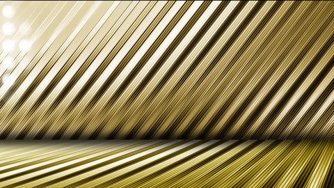 GOLD-LED WALL3-4 CG動画