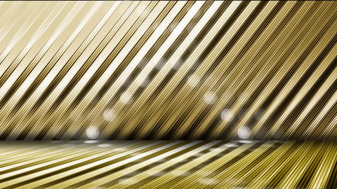 GOLD-LED WALL3-8 CG動画