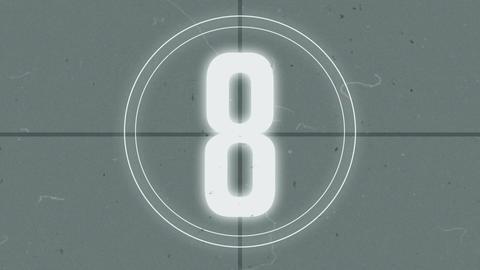 Retro Tape Countdown Archivo