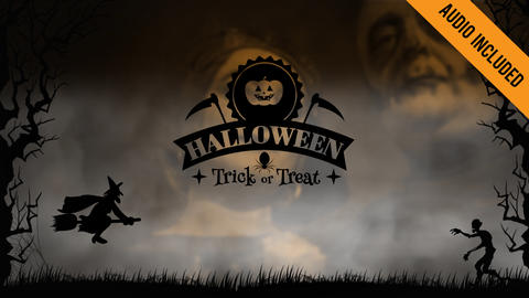 Halloween Slideshow After Effects Template