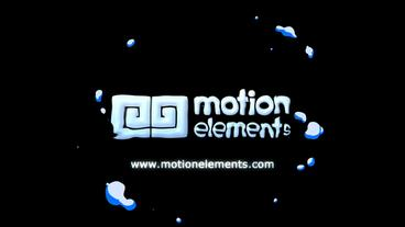 Liquid Explosion Logo After Effects Template