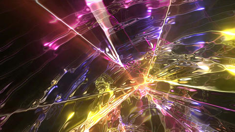 Plasma Jets HD 01 Vj Loop Animation