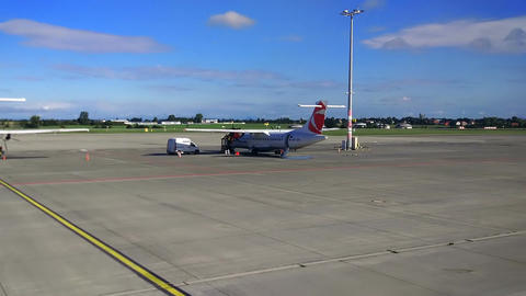 Vaclav Havel Airport Prague, 18 august 2017 Image