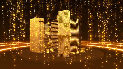 SHA Yellow City Cyber BG Image Animation