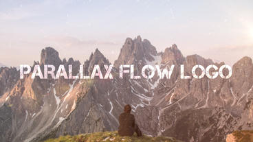 Parallax Flow Logo After Effects Template