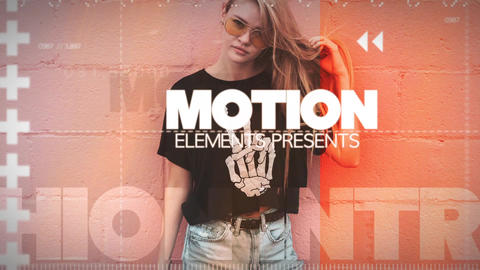 Fashion Model Presentation Plantilla de Apple Motion