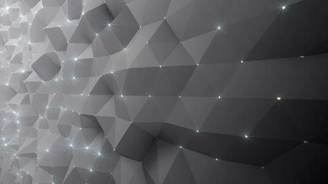 Geometric Wall 1s NCpFb 4k CG動画