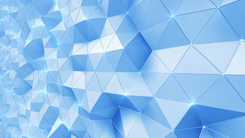 Geometric Wall 1s NCpMc 4k CG動画