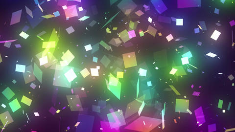 sparkling graphic particles CG動画素材
