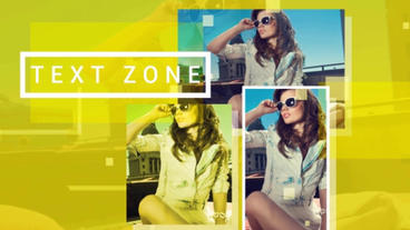 Color Slideshow After Effects Templates