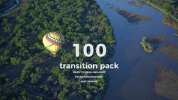 100 transition pack Premier Premiere Proテンプレート