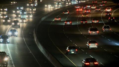La highway bend Footage