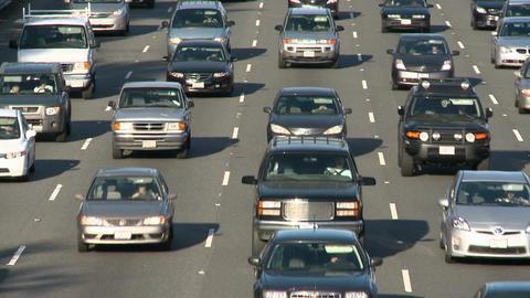 Slow commute traffic Footage