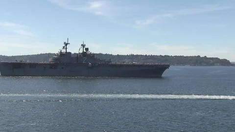 Uss essex lhd 2 united states navy wasp class amphibious assault ship Footage