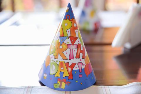 birthday party hat フォト