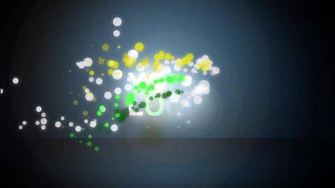 GloW Particle LOGO After Effects Template