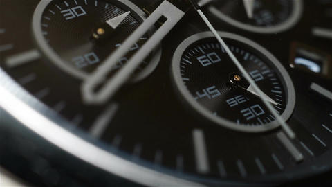 Chronograph Watch Footage