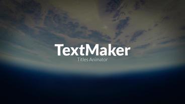 TextMaker - Smoke Edition Premiere Pro Template