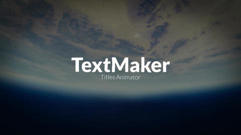 TextMaker // Premiere Pro 1