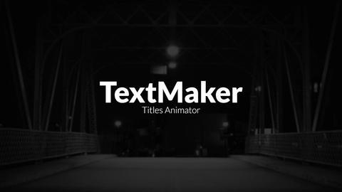 TextMaker - Digital Glitch Edition Premiere Pro Template