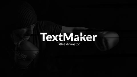 TextMaker - Grunge Brush Premiere Pro Template