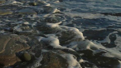 13 sunset water breg Archivo