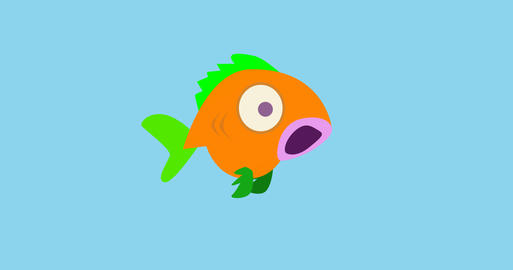 Goofy fish Animation