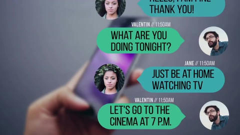 Text Messages Premiere Pro Template