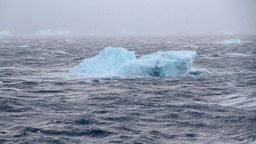Iceberg In The Ocean stock footage