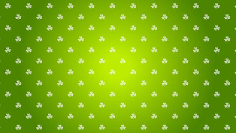 St. Patricks Day green video animation Animation