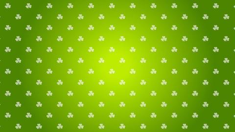 St. Patricks Day green video animation Animation