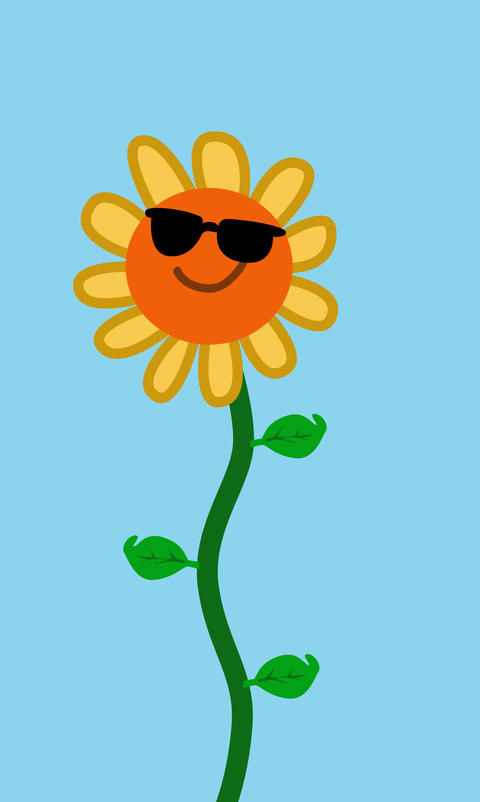 Cool Sunflower Animation