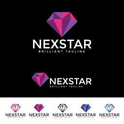Nex Star Logotype Vector