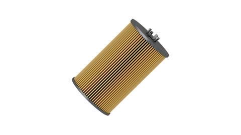 Automotive oil filter cartridge CG動画素材
