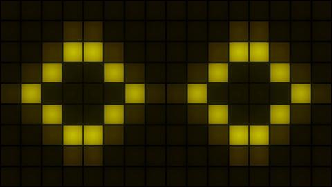 Box Lights Wall CG動画素材