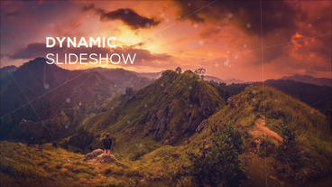 Dynamic Slideshow Plantilla de After Effects