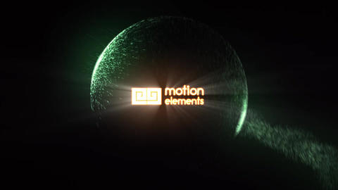 Ball Impact Logo Reveal After Effects Template