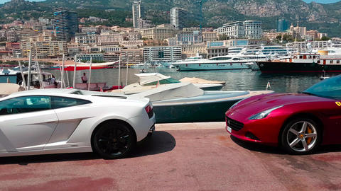 Luxurious Supercars in Monaco Live Action