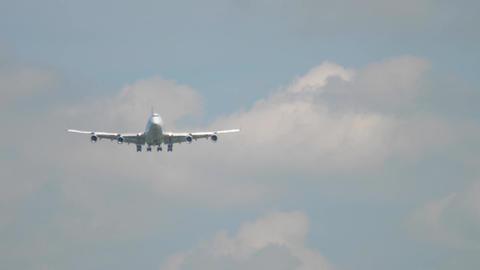 Widebody airfreight landing Footage